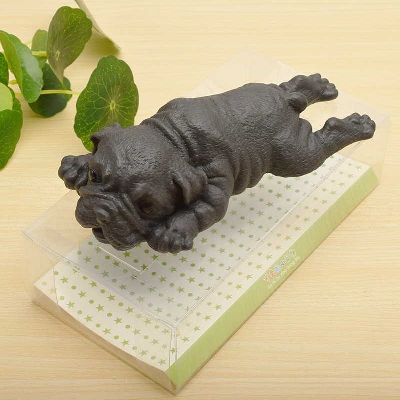 Creative Simulation Puppy Kawaii Dog Pug Healing Fun Kawaii Stress Reliever Toys Anti-stress Cute Puppy Soft Toy Fidget Toys enlarge