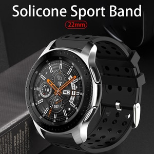 Sport Band For Samsung Gear S3 22mm,Silicone Replacement Bracelet Watch Strap ForFor Samsung Galaxy Watch 46mm For Huami Amazfit