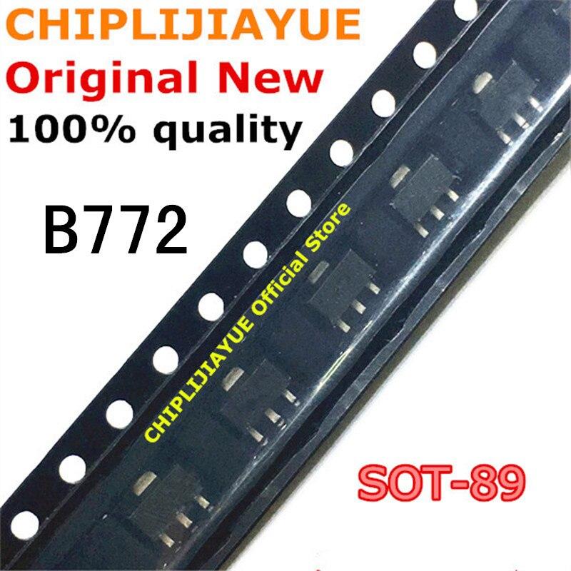 20PCS B772 SOT89 2SB772 SOT-89 3A/30V 772 SOT SMD new and original IC Chipset