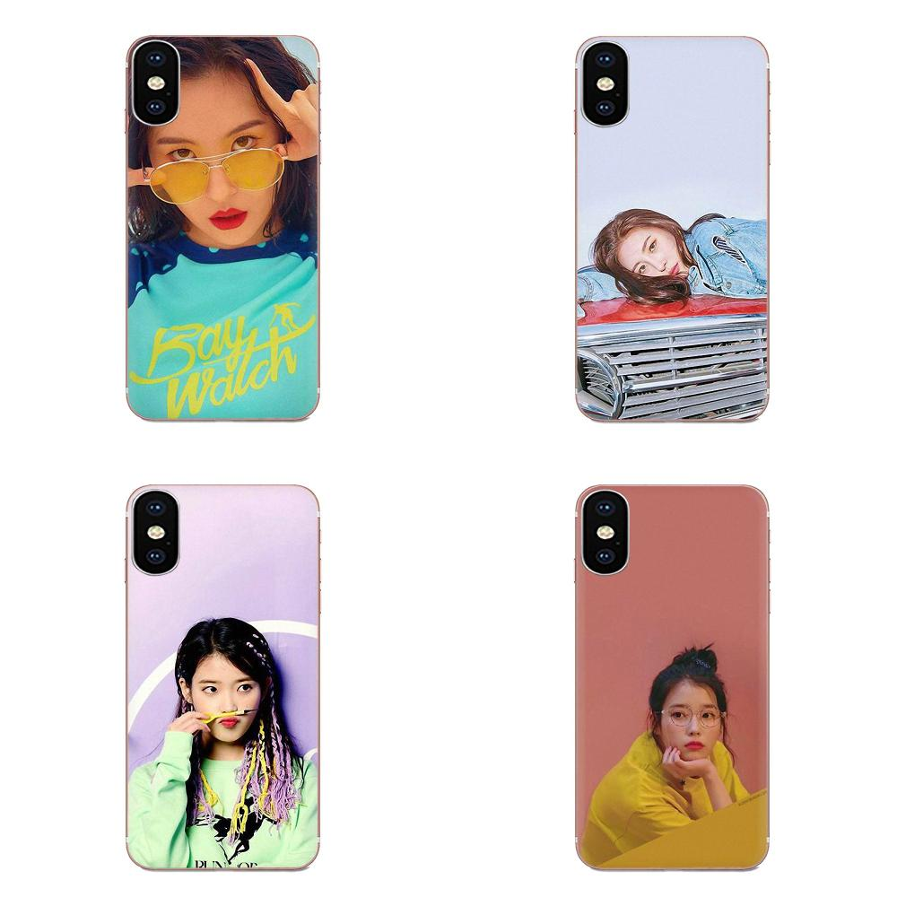 Suave de la cubierta del TPU del caso para LG G3 G4 G5 G6 G7 K4 K7 K8 K10 K40 K50 Q6 Q60 V10 V20 V30 V40 Nexus 5 5X 2017 Lee Sun Mi sol mi Kpop