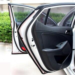 Image 2 - P Тип 1 8 м резиновая уплотнительная лента для автомобильной двери, шумоизоляция, уплотнительная лента для автомобильной двери, уплотнительная лента, резиновая противопыльная Автомобильная уплотнительная лента для дверей