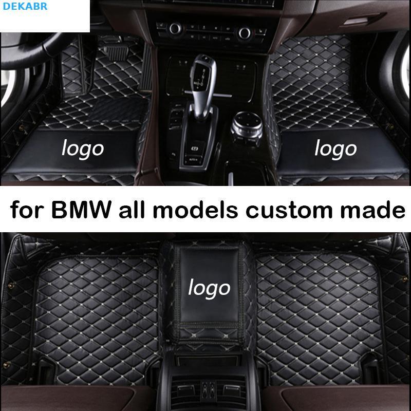 Tapis de sol pour Bmw G30 E90 E46 F10 F11 X3 E83 F30 F45 X1 X3 F25 X5 F15 E30 E34 E60 E70   Tous modèles, tapis de voiture