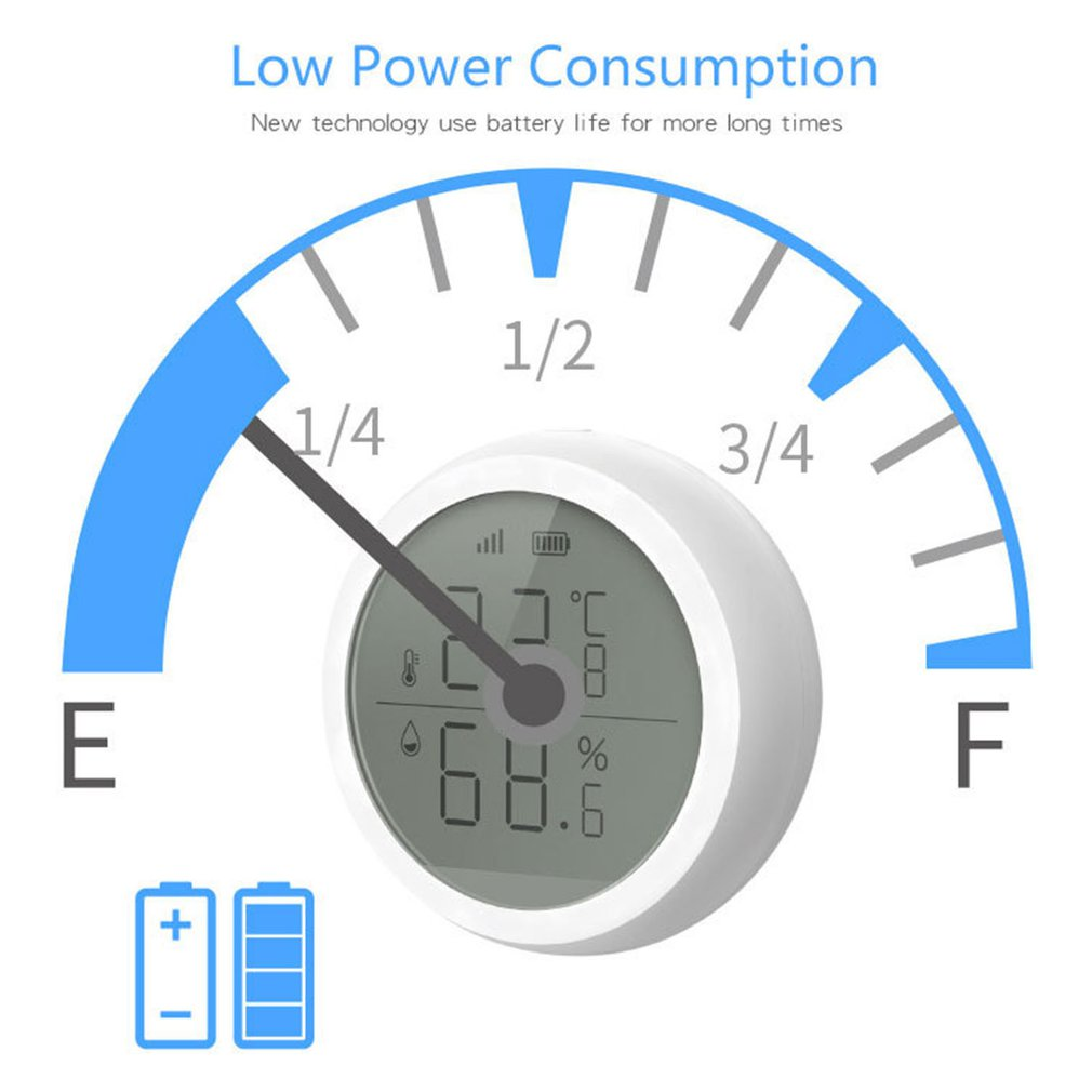3 0 Smart Home WIFI Wireless Temperature Sensor Home Automation Scene Security Alarm Temperature Sensor