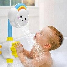 Jouets de bain pour enfants bébé jeu deau nuages modèle robinet douche eau Spray jouet pour enfants giclant arroseur salle de bain bébé jouet