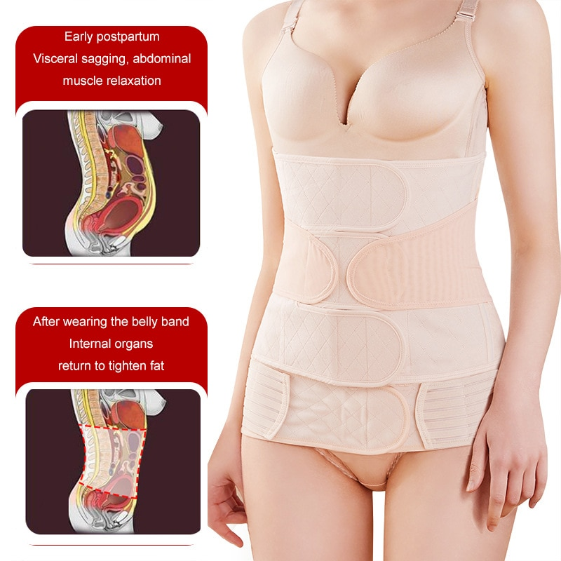 Waist Trainer Corset Belt for Women Weight Loss Compression Trimmer Workout Fitness Sweat Fat Burning Belt M-XXL Postpartum Belt enlarge
