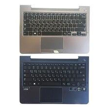 Kr teclado do portátil para samsung np530u3c np530u3b 530u3b 530u3c np535u3c np540u3 np532u3c np532u3c np532u3a teclado coreano palmrest capa