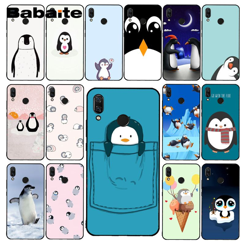 Babaite Cute cartoon animal penguin Phone Case for Xiaomi Redmi8 4X 6A 5A 7A S2 Redmi note4 4X 8T 5Plus Note5 7 Note8Pro