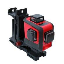 KAPRO الدقة 12 مستوى خط الليزر متر الأشعة تحت الحمراء الضوء الأحمر 1080 درجة الليزر خط الجدار وسم أداة شحن مجاني
