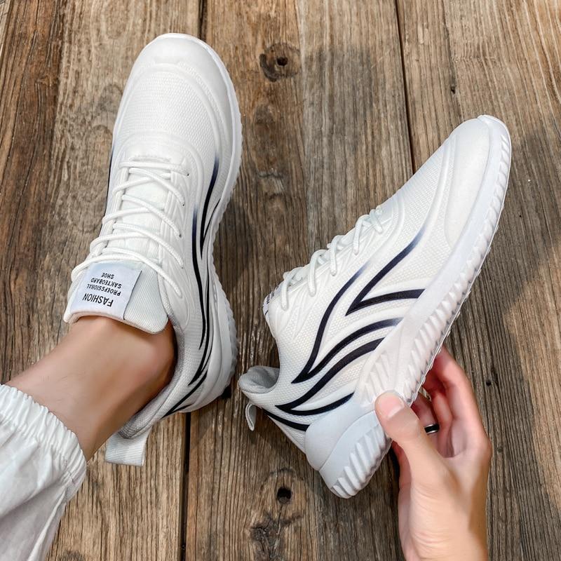 2020 мужская спортивная обувь, брендовая повседневная обувь, дышащая Высококачественная обувь для пар, спортивная обувь, модная спортивная о...