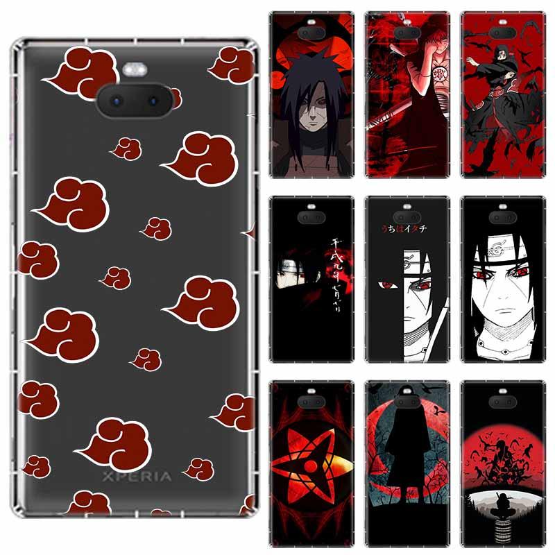 Naruto anime Black background soft TPU Case For Sony Xperia X XA XA1 XA2 XA3 XZ XZ1 XZ2 XZ3 XZ4 L1 L2 L3 Plus Compeact