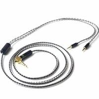 audiocrast 3 52 54 4mm balanced silver plated upgrade cable for he400i he1000 he6 he500 he560 edx v2 headphones