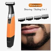 chemistry rechargeable electric shavers columns bart shavers water tight electric shavers trimmer men shave machine 100 240v 40d