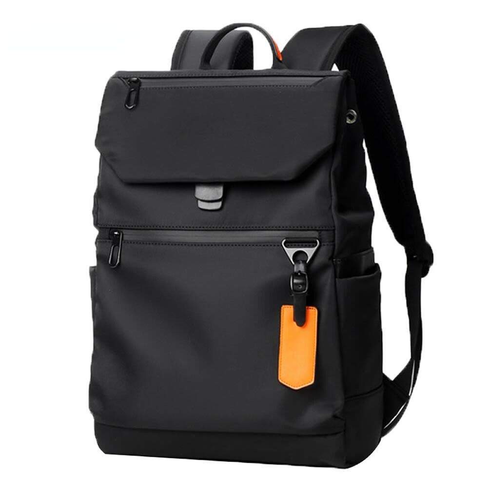 مصباح أنيق حقيبة مدرسية رياضية مضادة للماء دروبشيبينغ الرجال مدينة البساطة الأعمال عادية حقيبة ظهر لحمل جهاز الكمبيوتر المحمول ل 14 بوصة