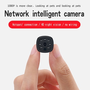 1080P Wide Angle Mini Wireless WIFI Camera IR Night Vision Phone APP Remote Monitoring Video Voice Recorder Camcorders