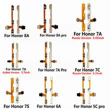 Сменный кабель для Huawei Honor Play 8A 7A 7C 7X 7S 6A 6C 6X 5C Pro, кнопки включения/выключения питания и увеличения громкости