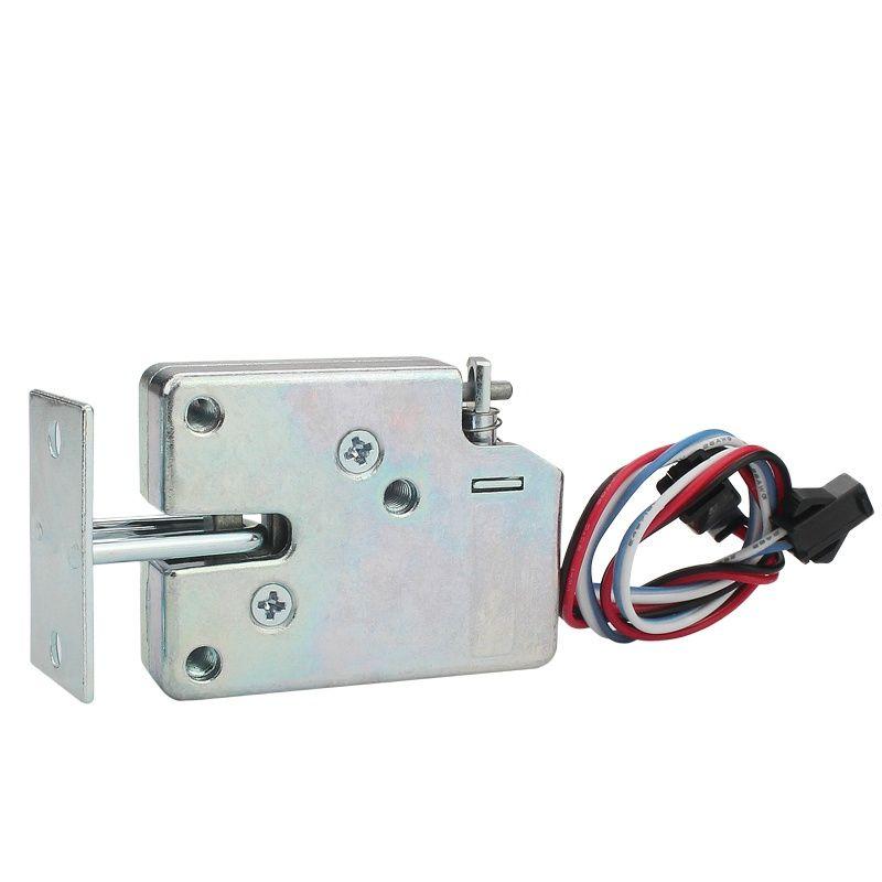 DC small electric control cabinet door lock cabinet lock 12v locker electronic lock with feedback signal electromechanical lock micro door operator small drawer cabinet electronic locks automatic access control