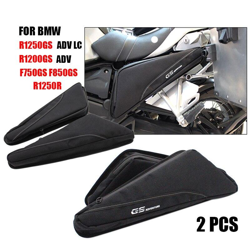 Para BMW F800GS ADV R1200G LC R1250GS herramienta de reparación de motocicletas colocación bagframe triángulo paquete caja de herramientas para BMW R 1200 GS