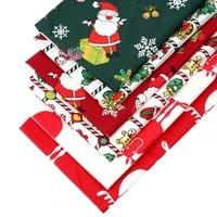 xugar cotton fabric sheet for craft christmas printed 4050cm cloth fabrics diy crafts materials apparel sewing home party decor
