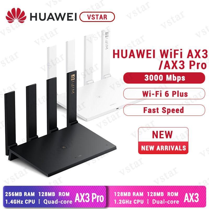 Original Huawei Router AX3 WiFi 6 + 3000Mbps Wireless Router Huawe WiFi AX3 Pro