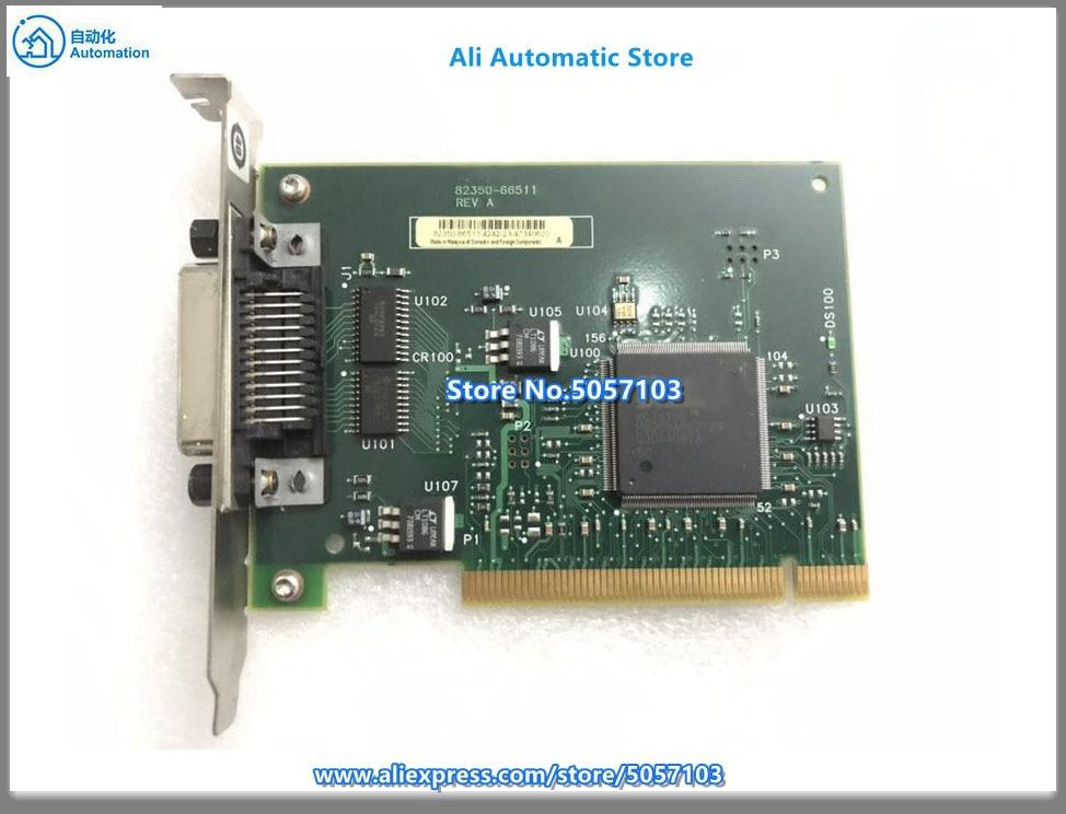 بطاقة اختبار مستعملة 82350b Pci-gpib 82350b Gpib 82350-66511