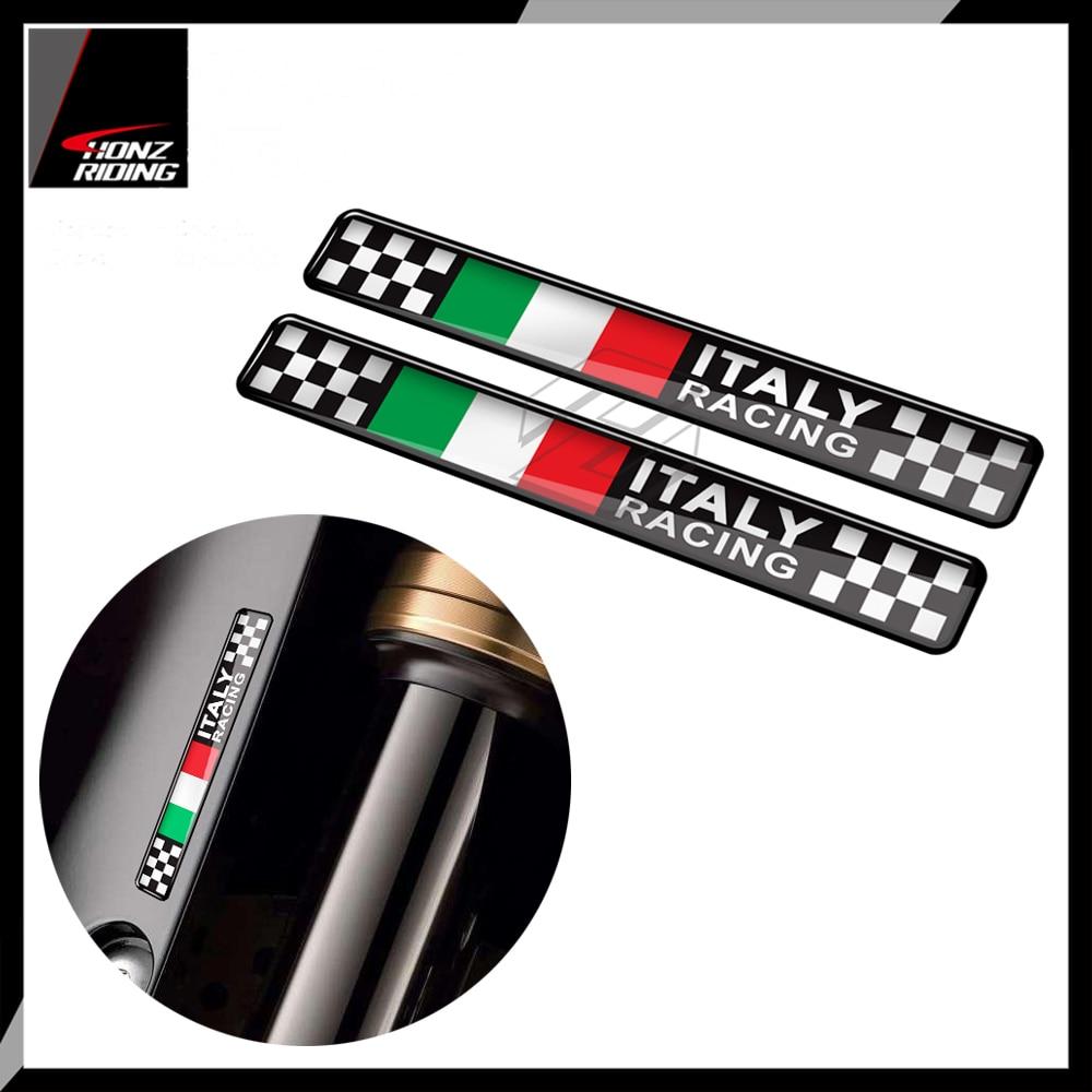 Für Ducati Aprilia Piaggio Vespa Sprint 50 150 200 300 3D Motorrad Aufkleber Italien Racing Aufkleber