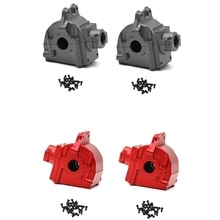 Metal Wave Box Gear Box Shell Cover Differential Housing 144001-1254 for Wltoys 144001 1/14 RC Car P