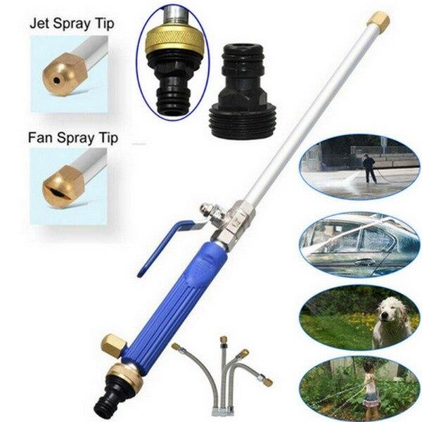 Riego de jardín, hidrojet, lavadora de potencia de alta presión, pistola pulverizadora de agua, boquilla de jardín, manguera de fijación, pistola pulverizadora de agua para coche