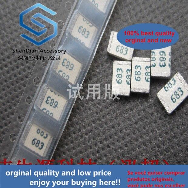 20 pces somente original novo chev 0025k683 4.8x3.3 1913 68nf 50v 5% metalizado pps filme chip capacitor