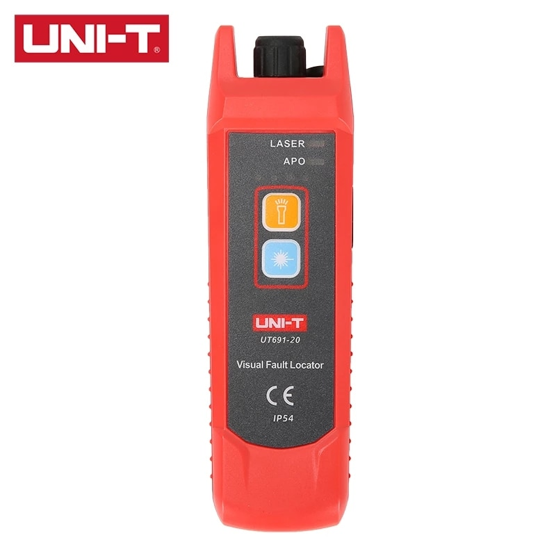 UNI-T UT691-20 UT691-10 UT691-01 Visual Fault Locator optical fiber fault detection and locating IP54 protection level huijun gao filtering control and fault detection with randomly occurring incomplete information