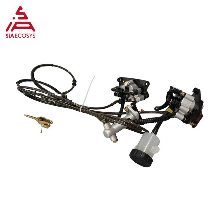 QSMOTOR 12inch 5000W 72V 90kph 2wd dual Hub Motor with KLS7245H controller kits for electric ATV Car enlarge