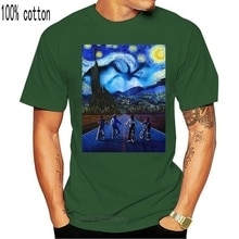 Lustige Männer T Shirt Frauen Neuheit T-shirt Fremden Dinge Starry Nacht Demogorgon Elf Steve T Hemd