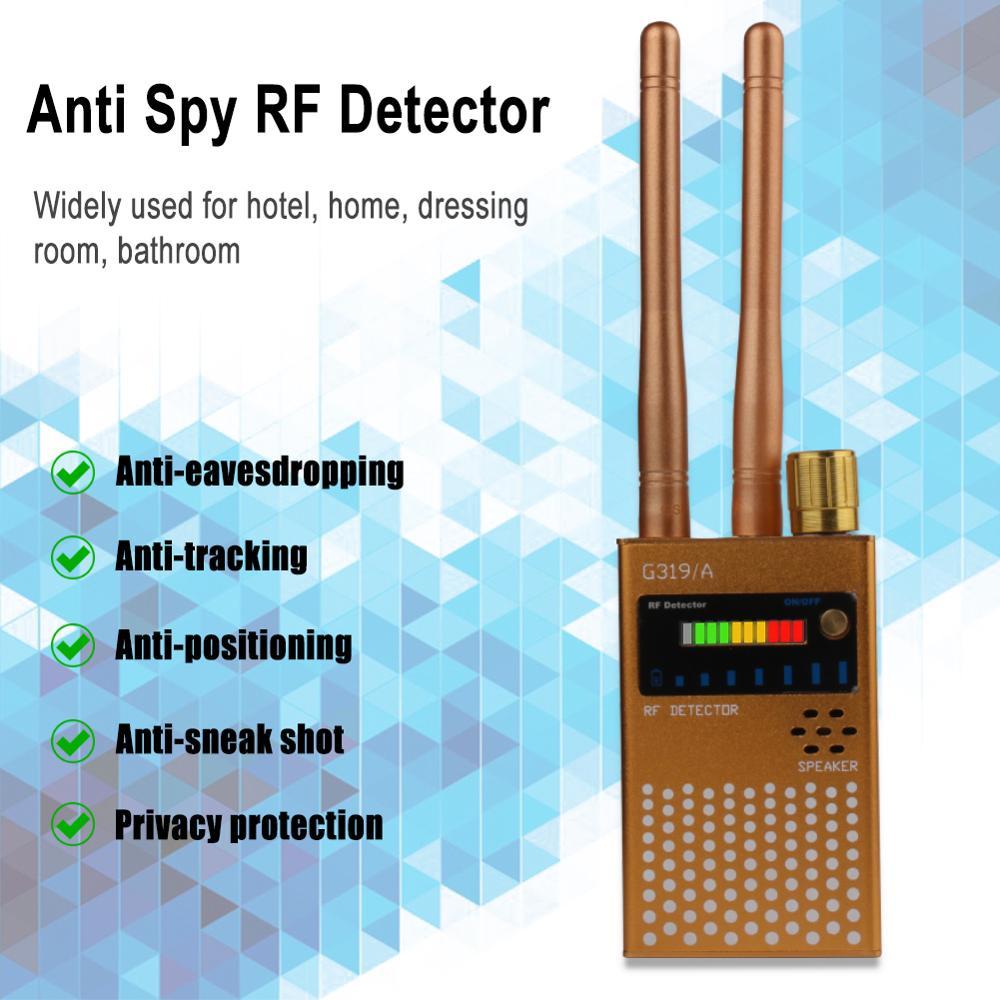 1MHz-8000MHz Upgraded Wireless Bug Detector Anti-wiretapping Wifi Signal Detector CDMA Signal Detector Spy Finder enlarge