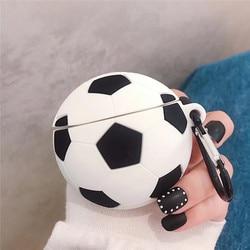 Cool Fashion Homem de Futebol Esportes Futebol Caixa de Fone De Ouvido Para A Apple Airpods 2 Acessórios Capa Protetora Da Pele Para O Ar Caso Vagens