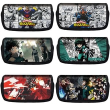 Hot Selling My Hero Academia Pencil Toys Case Large Capacity Canvas Student Creative Pen Case Anime