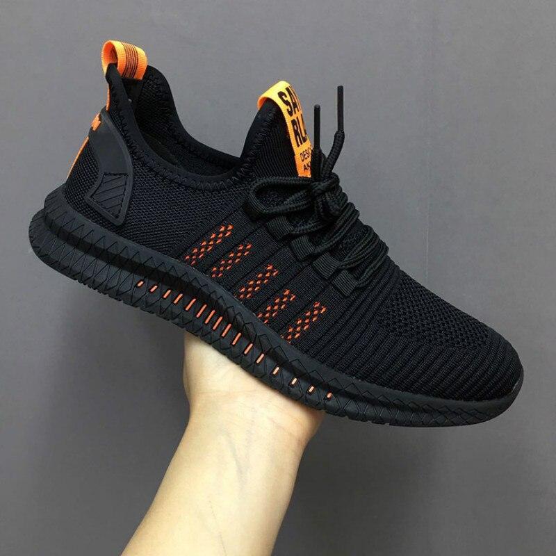 Zapatillas deportivas antideslizantes transpirables para hombre y Calzado informal vulcanizado para hombre