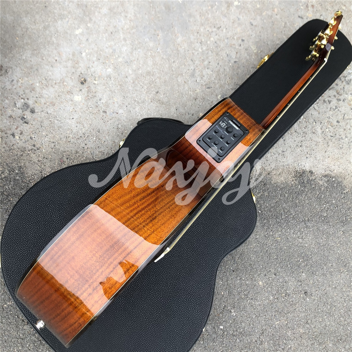 High Quality All Koa Wood K24 Acoustic Guitar with Rosewood Fingerboard ,Real Photos,Free Shipping enlarge
