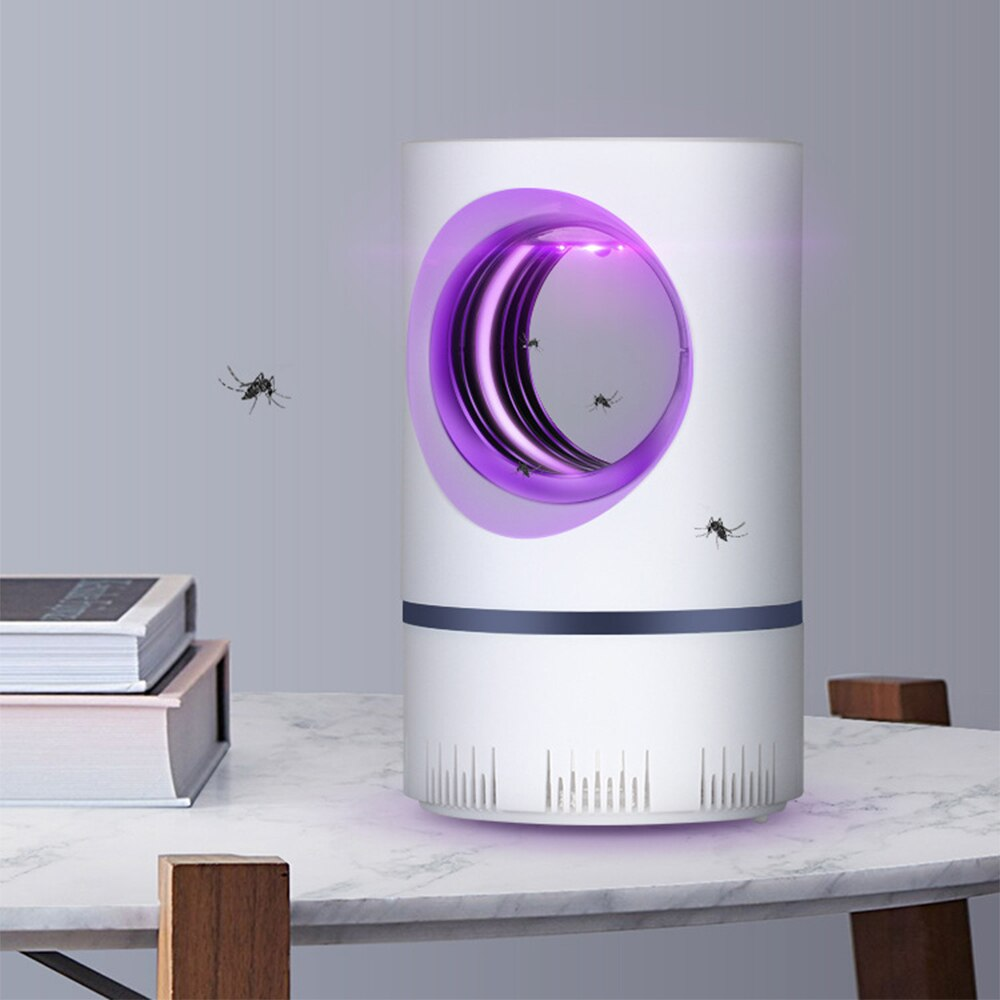 USB Mosquito Lamp Safe Mute UV Anti-mosquito Light Lantern Bug Zapper Killer Indoor Outdoor for Office Bedroom Living Room Hotel