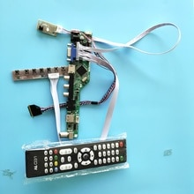 "kit for LP156WH4(TL)(C2) Panel Screen TV AV Controller driver board 15.6"" 40pin LVDS LCD LED VGA remote 1366X768 USB HDMI"
