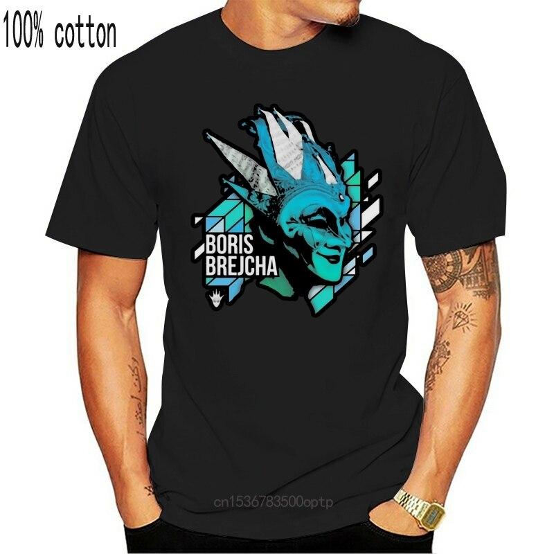 New Boris Brejcha Dj T-Shirt Black-Navy Short Men-Women 27Th 30Th 40Th 50Th Birthday Tee Shirt