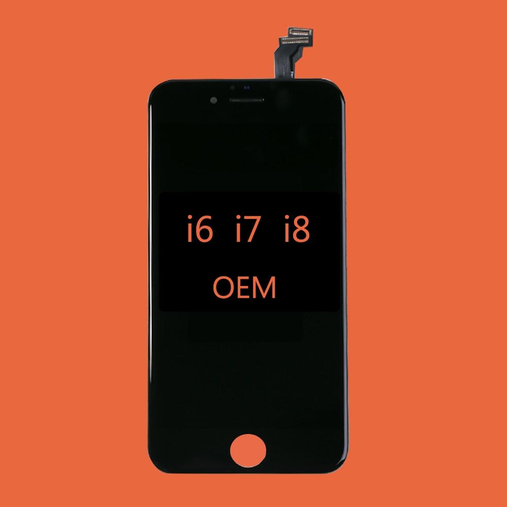 Оригинальный ЖК-экран для iPhone 6 6S 7 8 экран Топ OEM i6 i7 ЖК-дисплей дигитайзер Сенсорная Замена для iPhone6 iPhone7 iPhone8