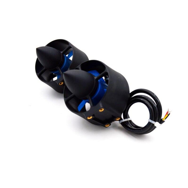 A Pair Underwater Thruster ROV Thruster 2.4kg Thrust Thruster Underwater Waterproof Motor Positive And Negative Paddle enlarge