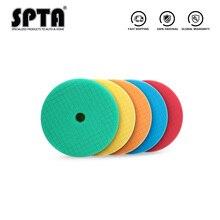 (Vente en vrac 1) SPTA 6 pouces (150mm) léger/moyen/lourd coupe éponge tampons de polissage et tampons de polissage pour 5