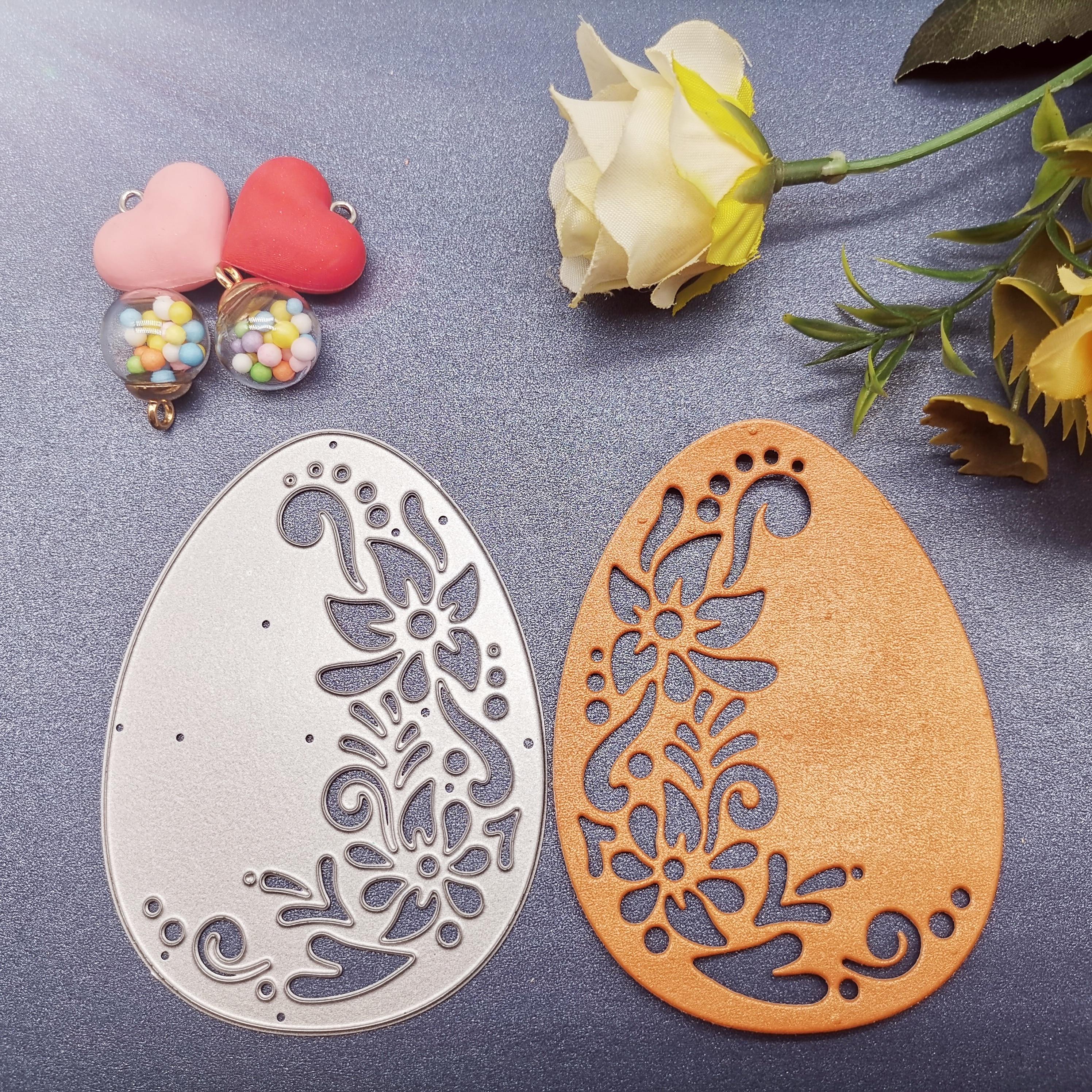 Cutting Dies  Easter Eggs DIY Scrap Booking Photo Album Embossing Paper Cards 66*88mm