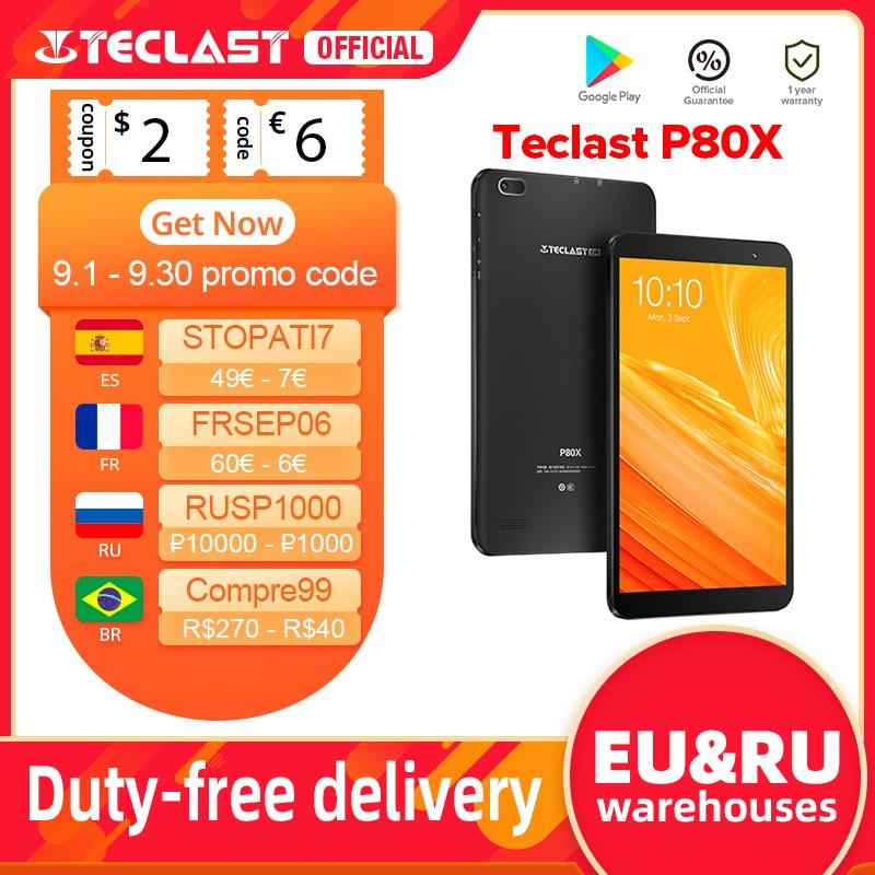 Teclast P80X 8-дюймовый планшет с восьмиядерным процессором SC9863A, ОЗУ 2 Гб, ПЗУ 32 ГБ, Android 9,0 | Компьютеры и офис | АлиЭкспресс