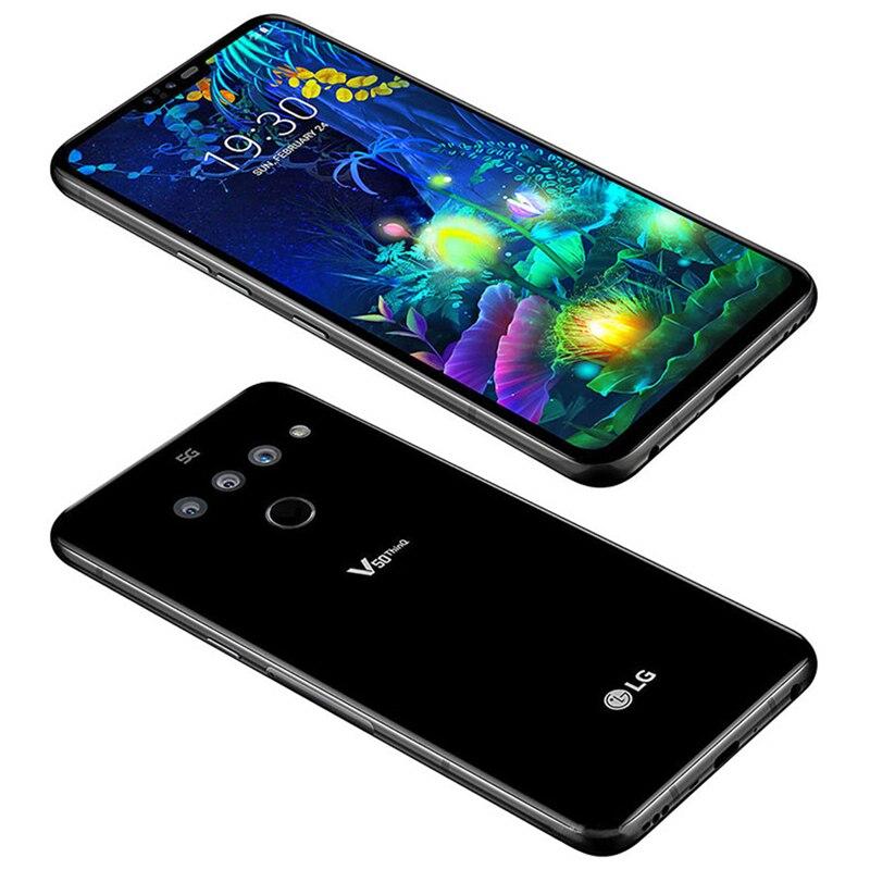 Фото2 - Разблокированный мобильный телефон LG V50 ThinQ Korean V500N Восьмиядерный 6,4 дюйм. 6 ГБ ОЗУ 128 Гб ПЗУ NFC 3 + 2 камеры 16 МП 4G LTE Android смартфон