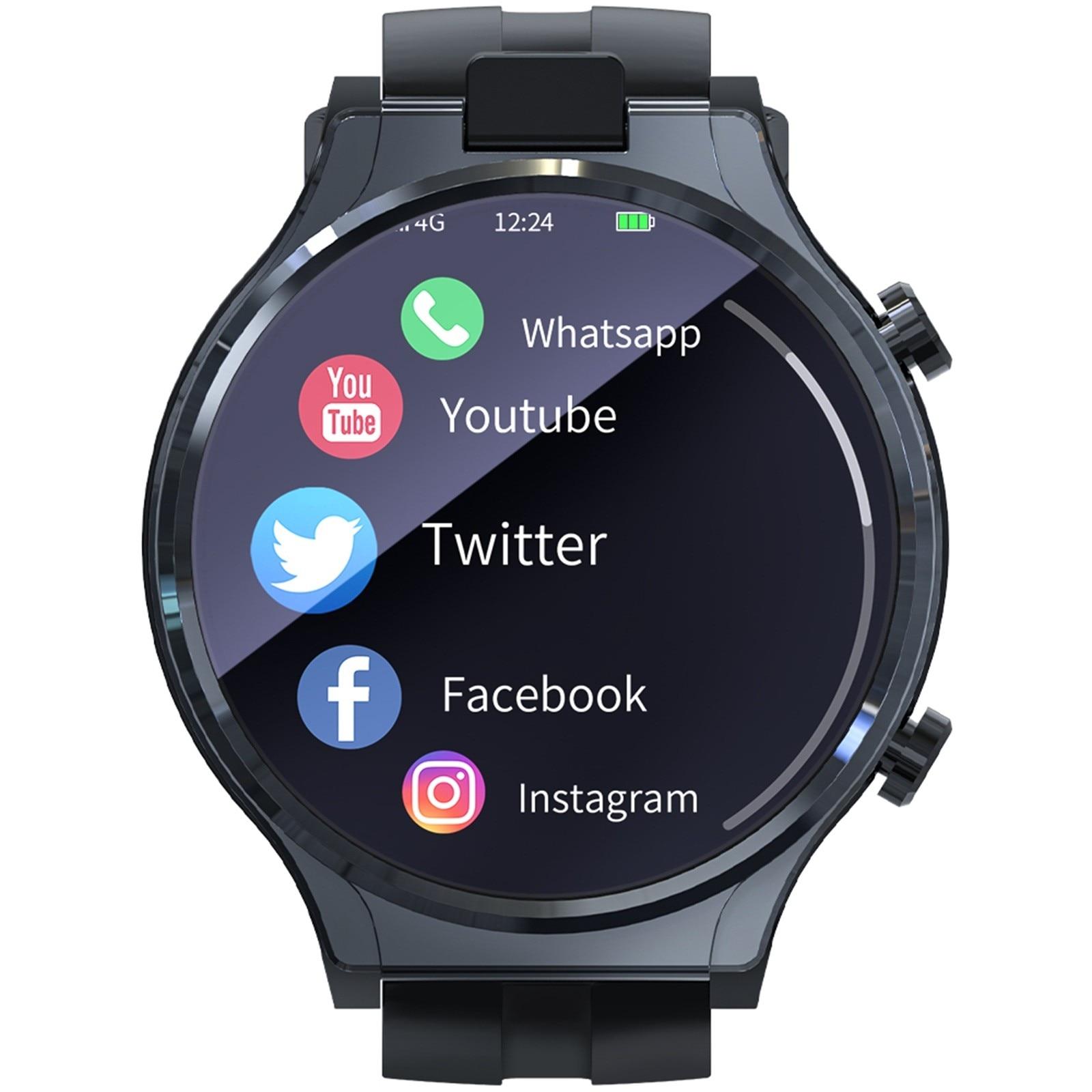 Appllp Pro 4g Smart Watch Men Wifi Gps Watches 4gb 64gb Android 10.0 Watch Phone Unisex Men Women Multifunction Wristband