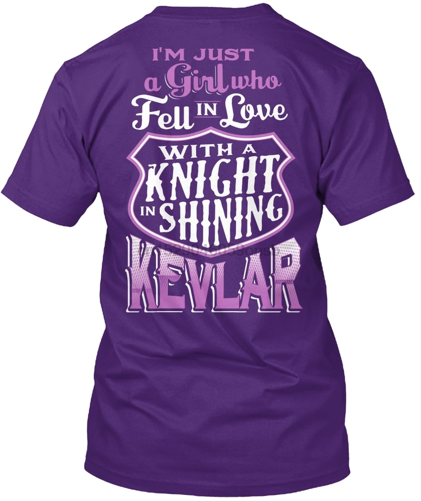 Men T Shirt Police Wive's Shirt - Knight In Kevlar Women tshirt