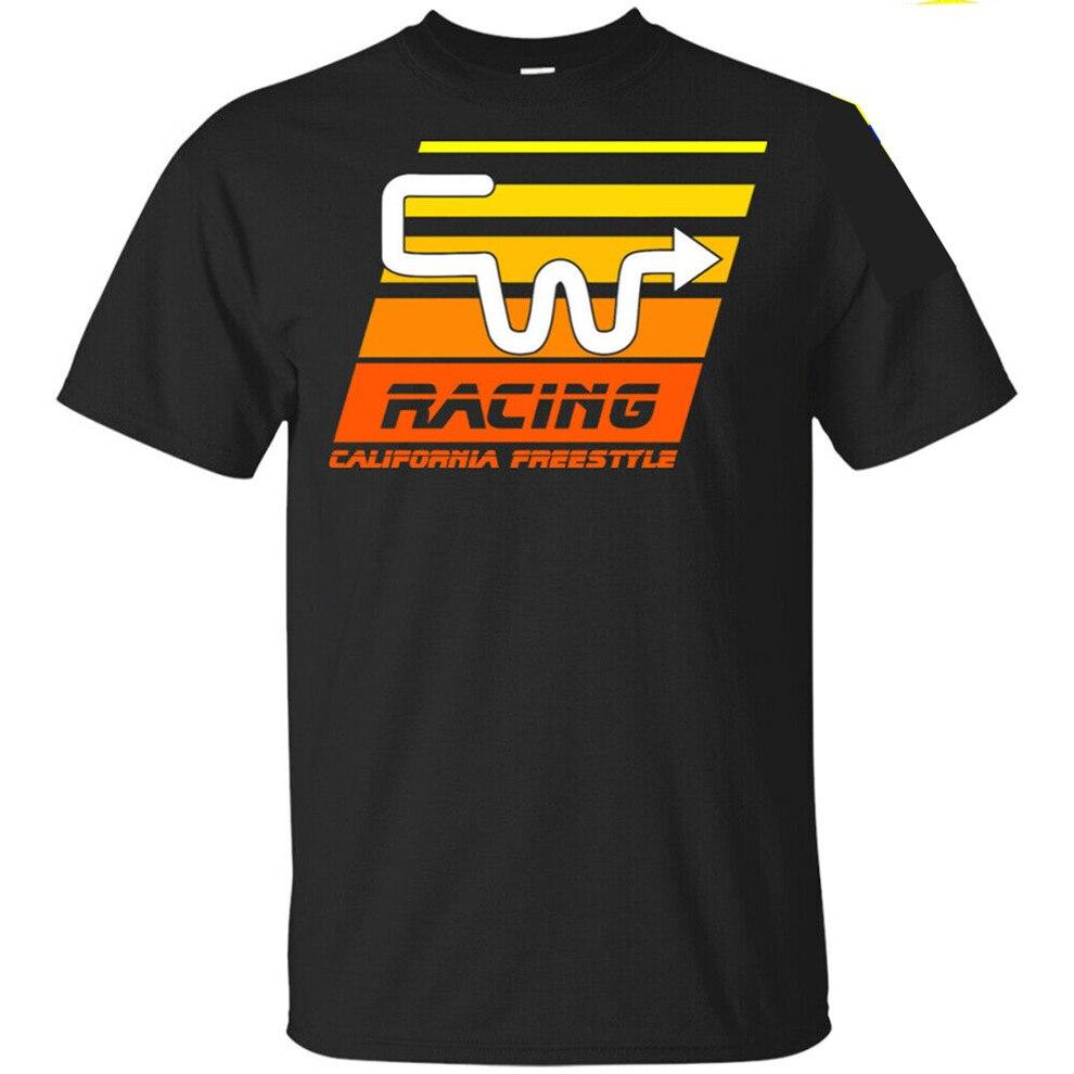 Cw Racing Bmx camiseta Trick Star camiseta 2020 California Freestyle bicicleta camiseta impresa