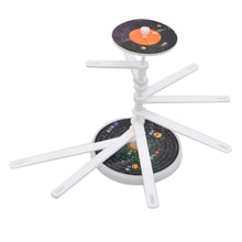 DIY Sistema Solar 9 planetas principales juguete estudiantes Hogar Escuela experimento proyecto modelo Taika nueve planetas niños juguete educativo bonito
