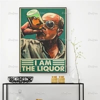 drinking poster alcohol wine lover gift drunkbartende drinking dad beer dad home decor prints wall art canvas unique gift